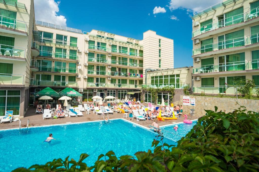 The swimming pool at or near The Clara Hotel Bulgaria