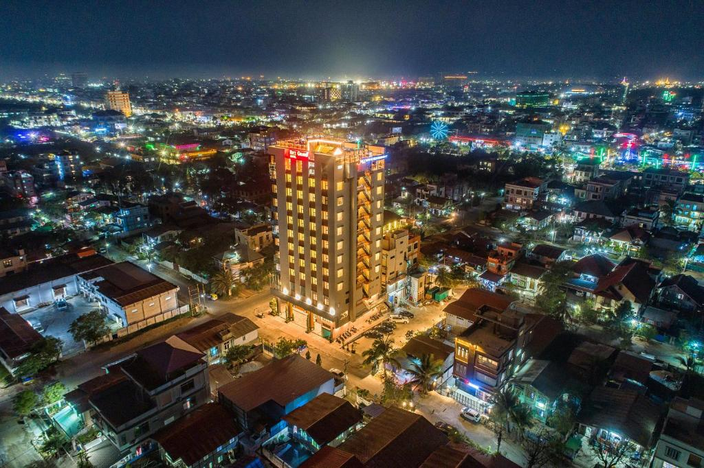 A bird's-eye view of Ritz Grand Hotel Mandalay