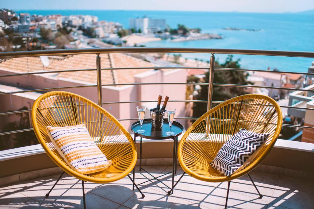 A balcony or terrace at Sea Breeze Experience 2019