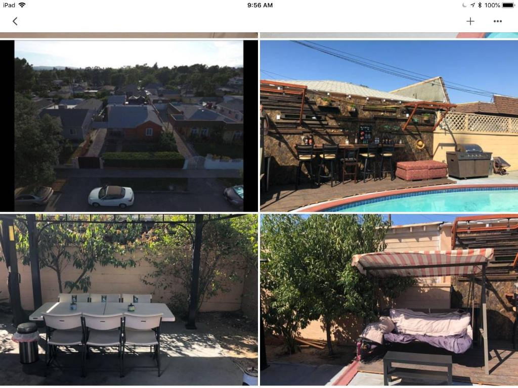 A view of the pool at Welcome to the Motel california or nearby