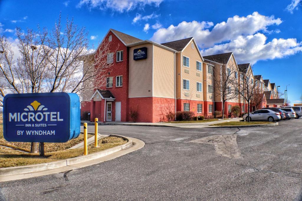 Microtel Inn & Suites Salt Lake City Airport.