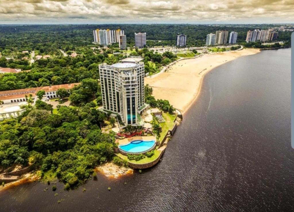 A bird's-eye view of Tropical Executive Flat em Manaus - AP 1121