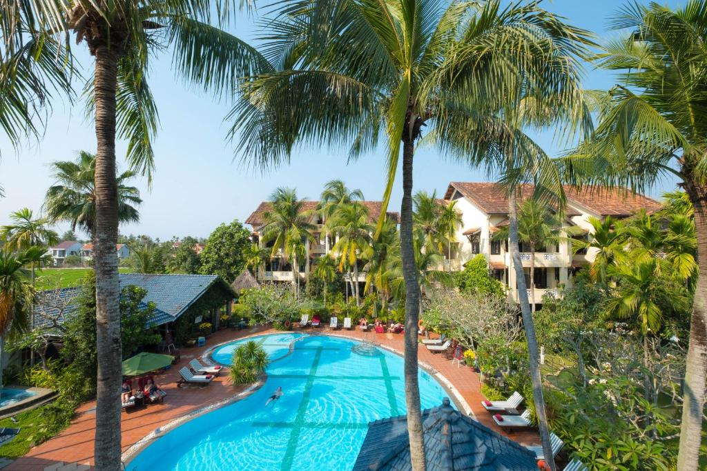 A view of the pool at Hoi An Trails Resort & Spa or nearby