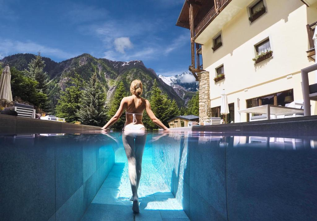 The swimming pool at or near QC Terme Monte Bianco