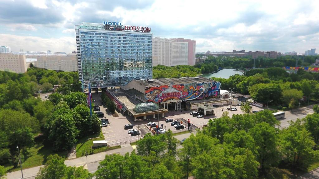 A bird's-eye view of Korston Club Hotel Moscow