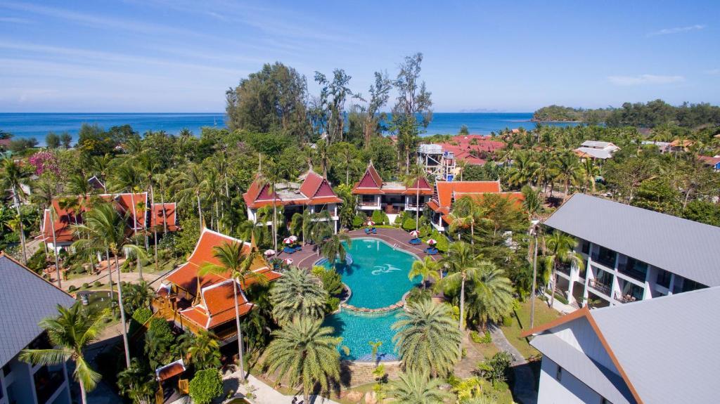 A view of the pool at Royal Lanta Resort & Spa or nearby