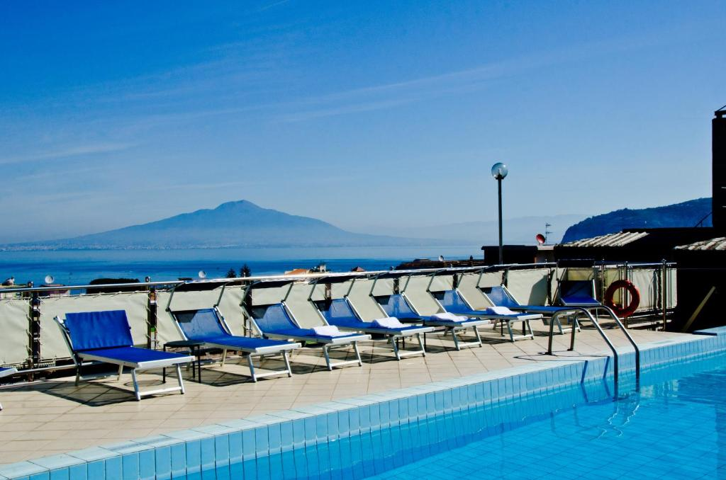 The swimming pool at or near Grand Hotel Cesare Augusto