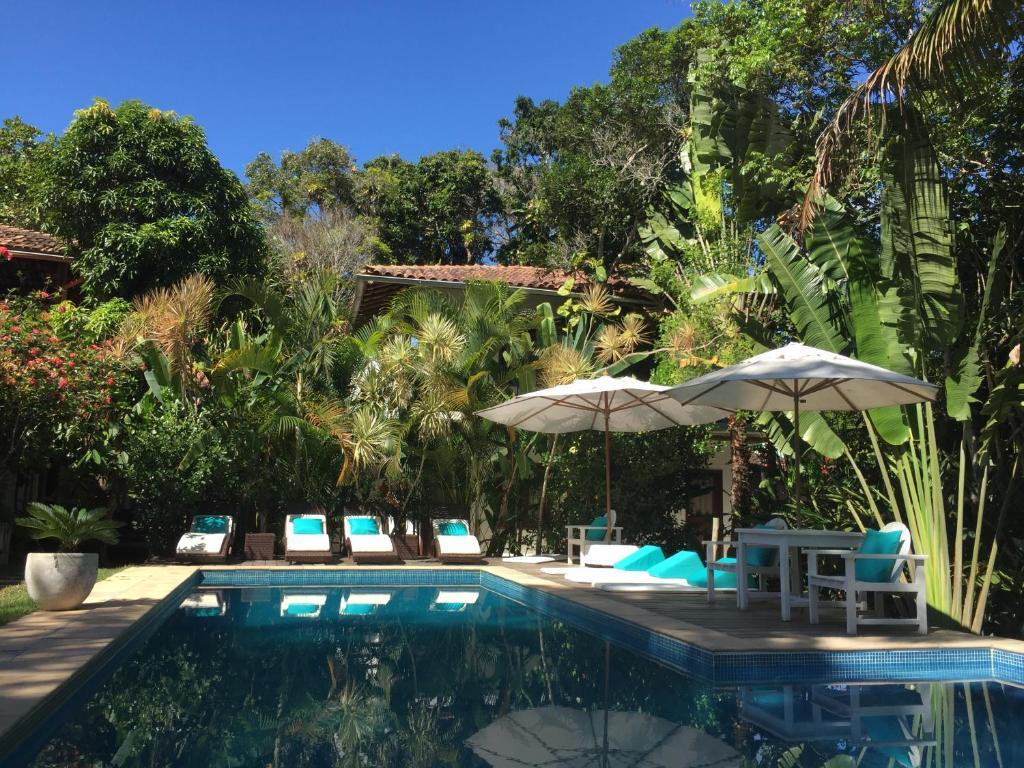 A piscina localizada em Pousada Jardim Das Margaridas ou nos arredores