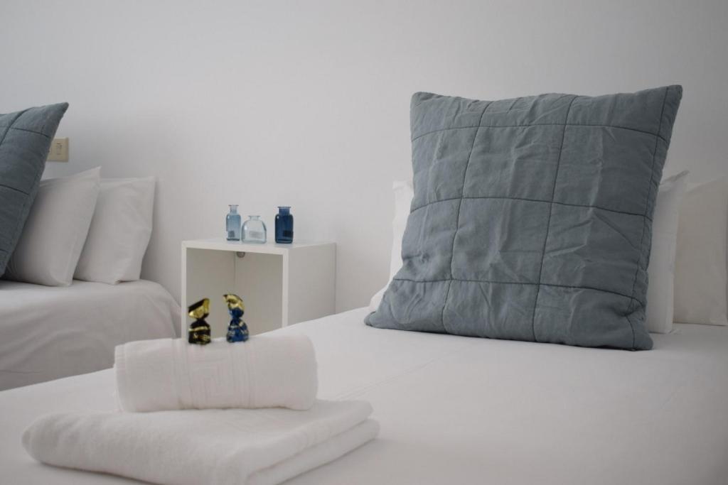 A bed or beds in a room at La Casa de Manuel