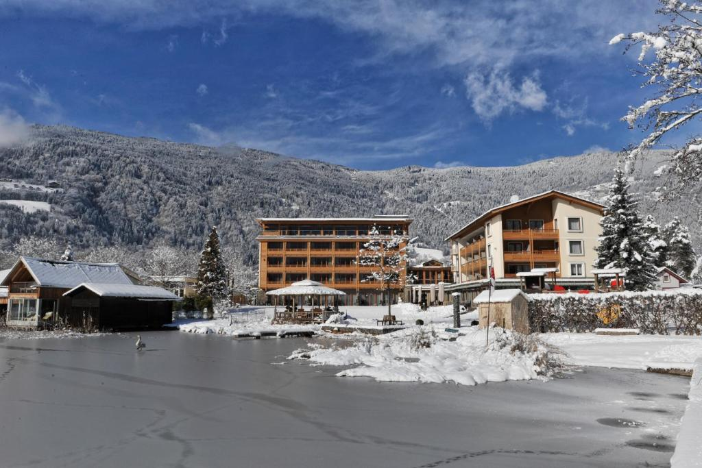 Hotel SeeRose during the winter