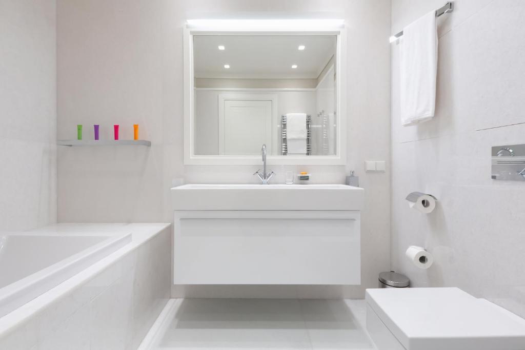Ванная комната в Резиденции Москва - Сервисные Апартаменты