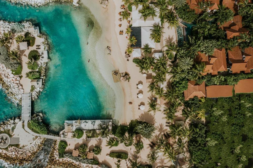 A bird's-eye view of Baoase Luxury Resort