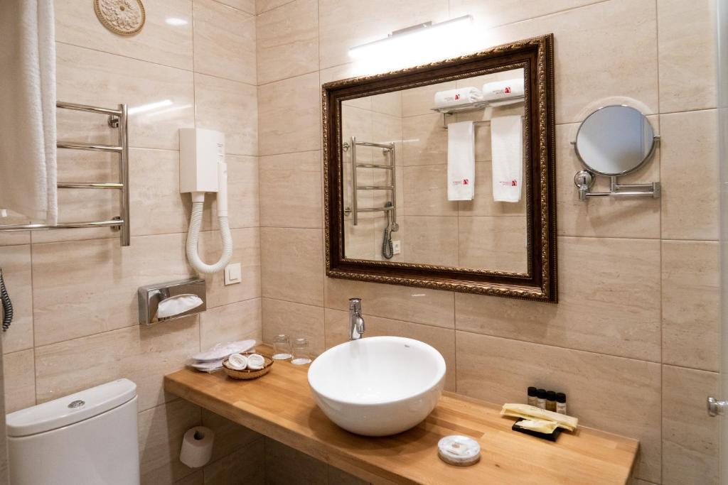 Ванная комната в Галунов Отель