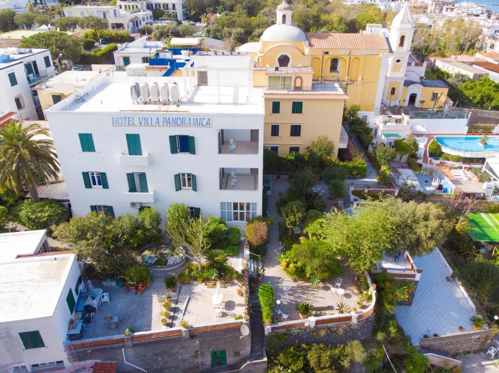 A bird's-eye view of Hotel Villa Panoramica