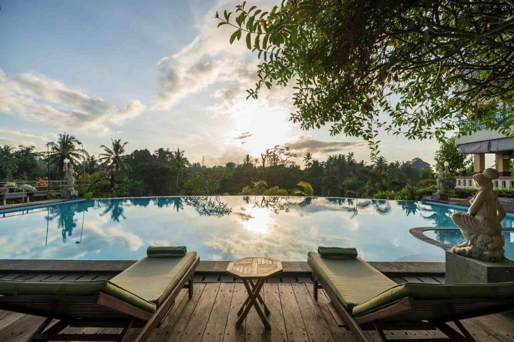 The swimming pool at or near Amatara Royal Ganesha