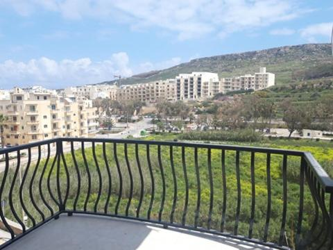 A balcony or terrace at Gozo Boutique Apartment