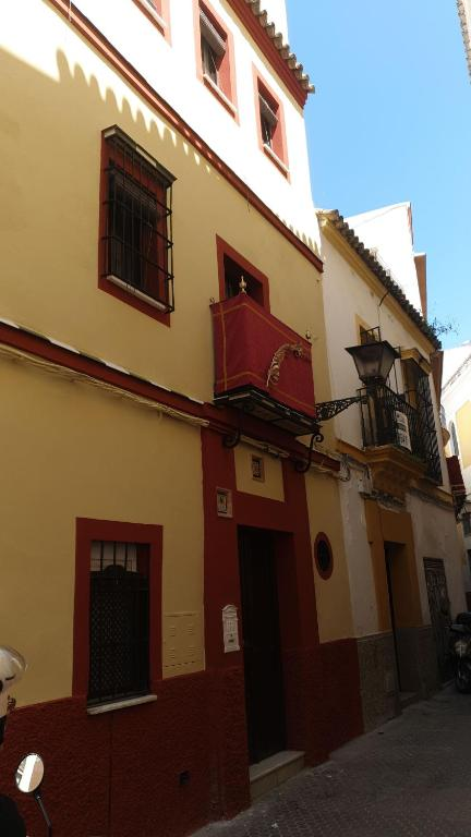 Het gebouw waarin de homestay zich bevindt