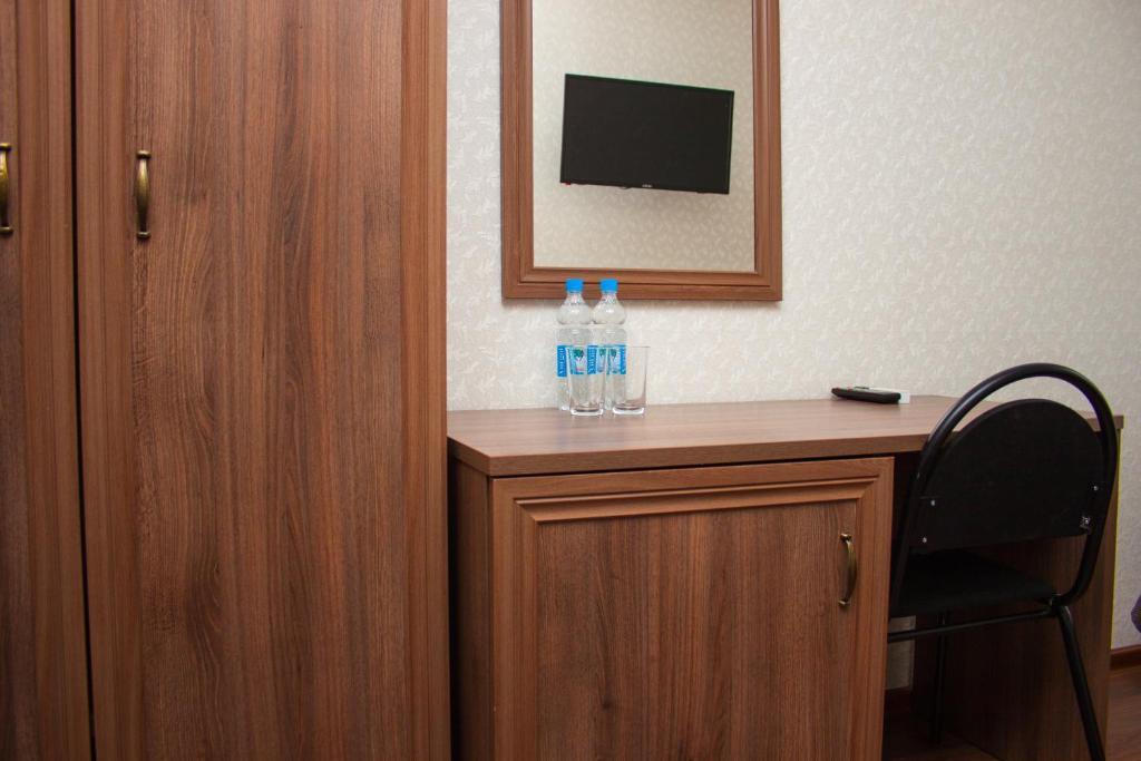 Телевизор и/или развлекательный центр в Мини-отель У Театра