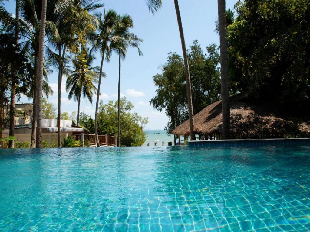 The swimming pool at or near Anyavee Railay Resort