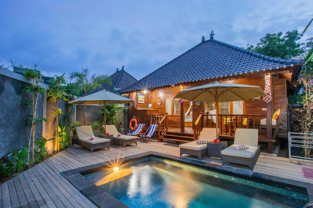 Piscina en o cerca de Sunset Garden Nusa Lembongan