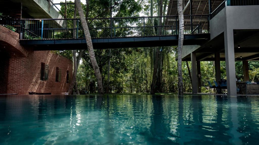 The swimming pool at or near Ayur Ayur Resort & Ayurveda Retreat