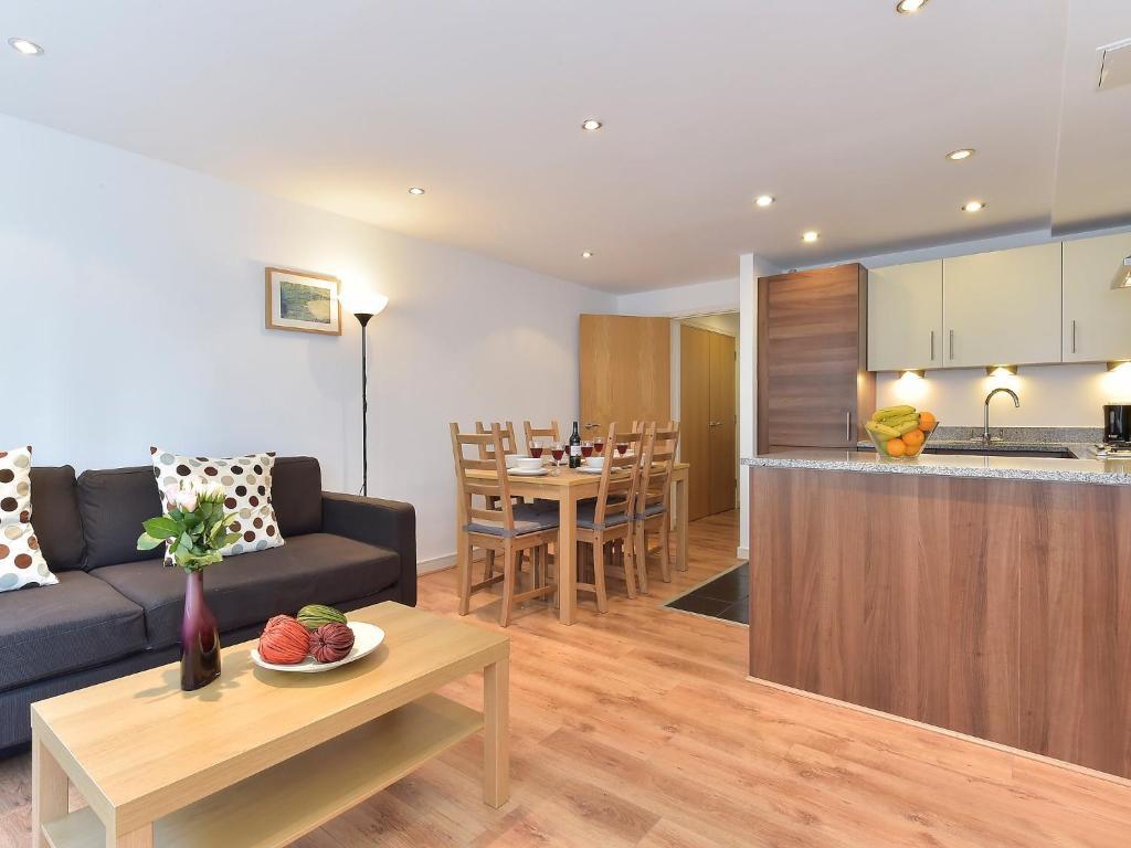 A kitchen or kitchenette at Apartment Steward