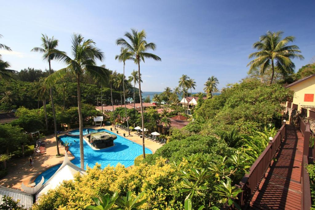 A view of the pool at All Seasons Naiharn Phuket or nearby