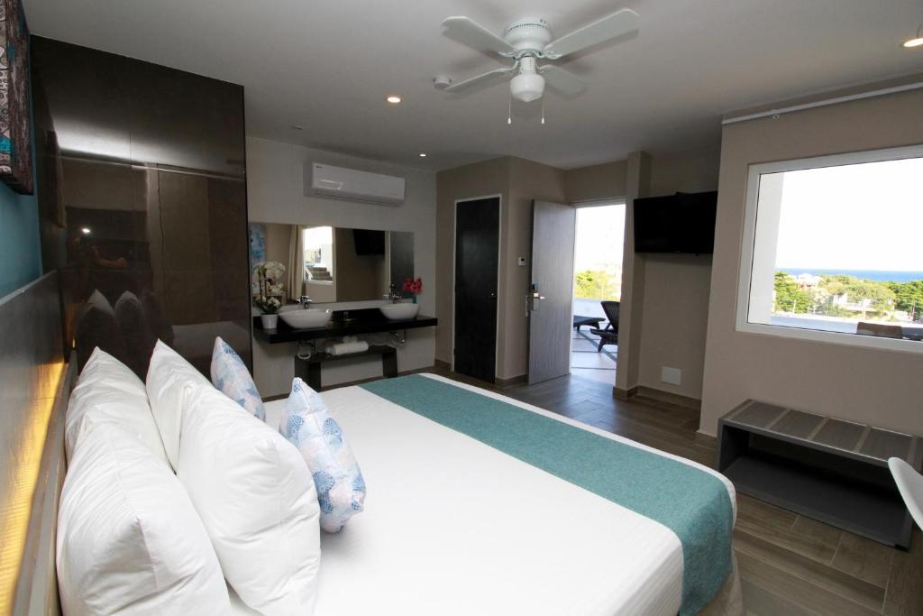 Cama o camas de una habitación en Illusion Xpress By Xperience Hotels
