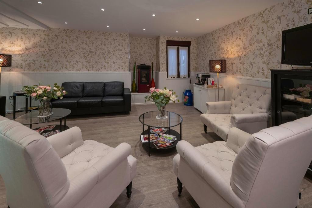 Zona de estar de Hotel Arco Navia