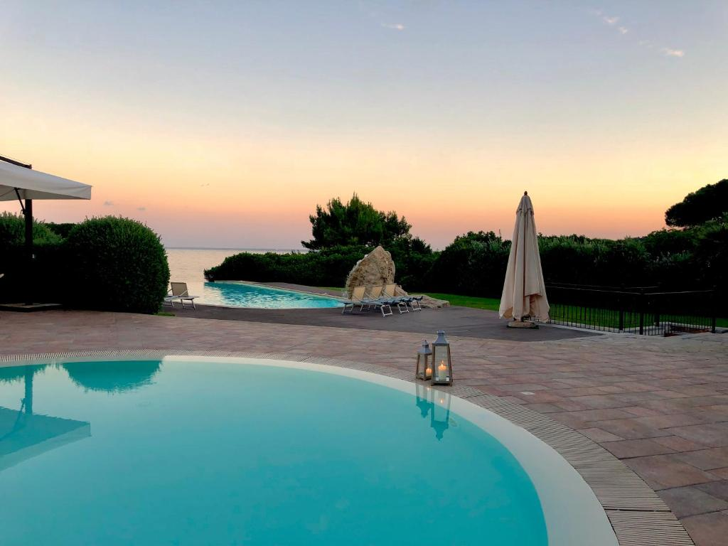 A piscina em ou perto de Hotel Punta Negra