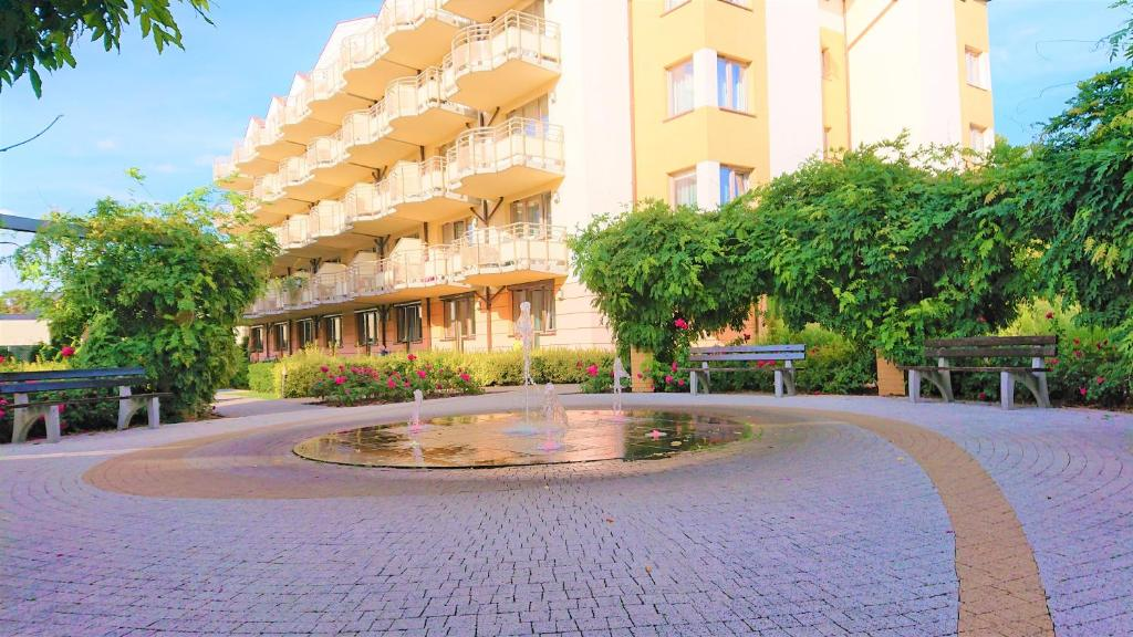 Usedom Apartment With Terrace At The Park Polen Swinoujscie