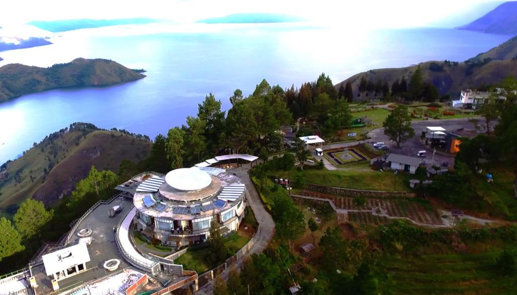 منظر Taman Simalem Resort من الأعلى