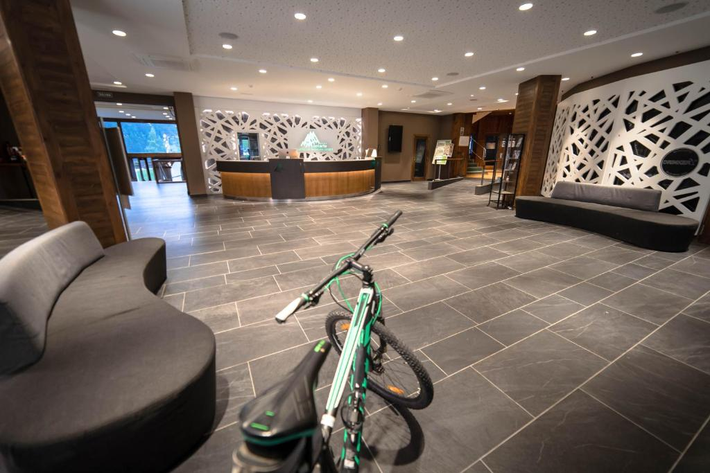 The lobby or reception area at Hotel Montarto