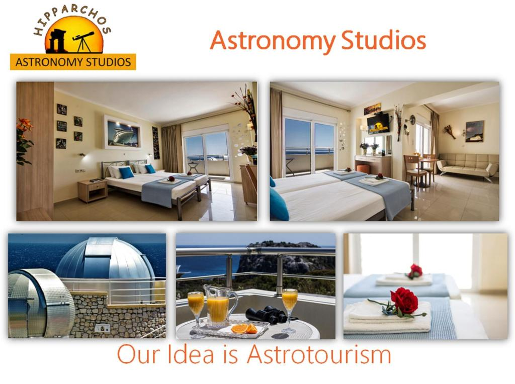 The floor plan of Astronomy Studios