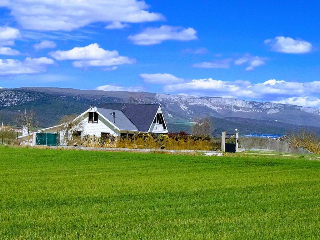 Edificio en el que se encuentra el chalet de montaña