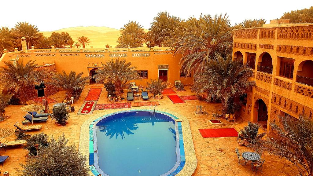 A view of the pool at Ksar Merzouga Hotel & Camps or nearby