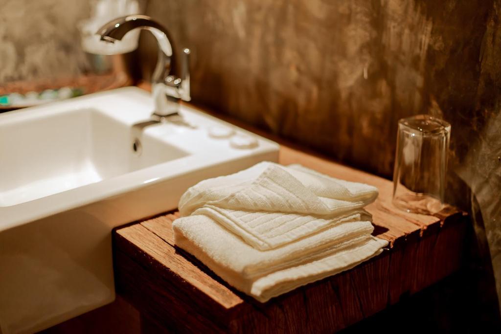 Ein Badezimmer in der Unterkunft Arch Studio Cenang