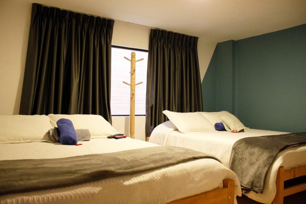 Cama o camas de una habitación en Rua Hostels - Bogota