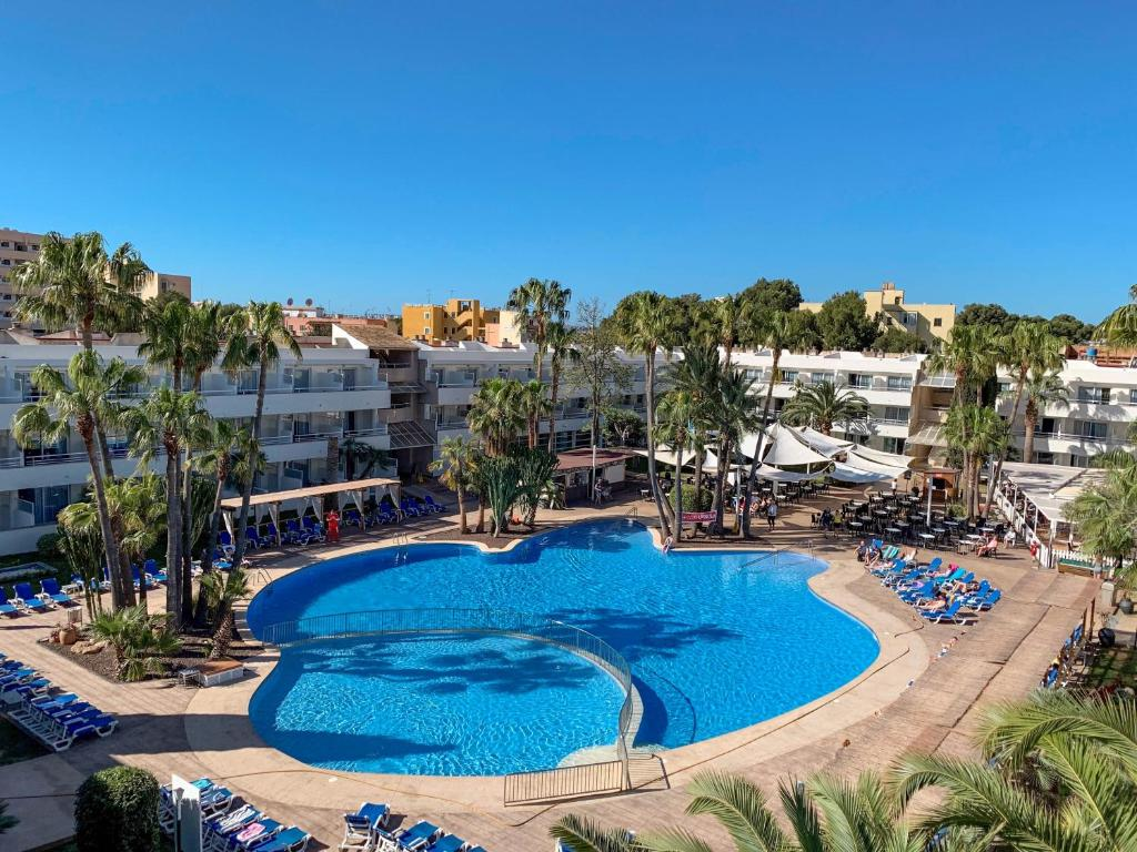 A view of the pool at Ibersol Son Caliu Mar - All Inclusive or nearby
