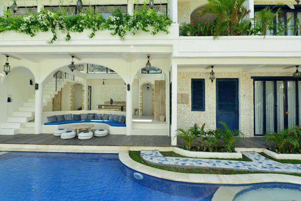 Piscine de l'établissement Artemis Villa Hotel ou située à proximité