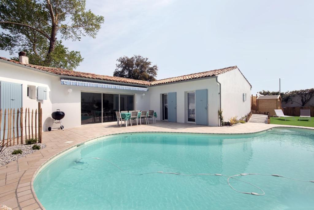 Tres Belle Villa Avec Piscine 4 Le Bois Plage En Re Updated