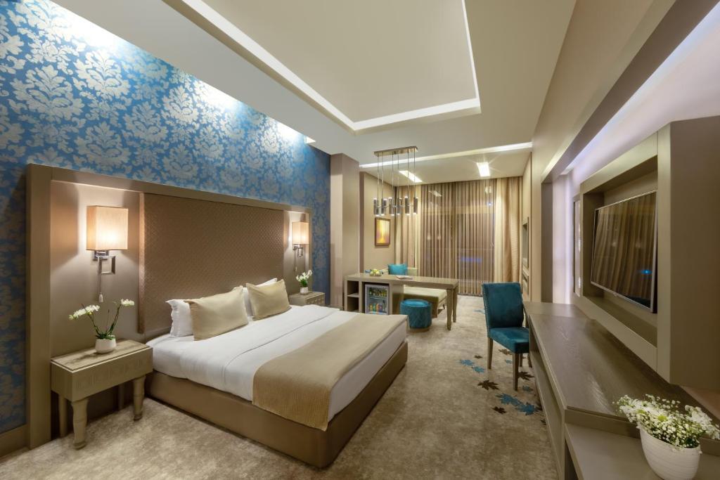 غرفة في فندق منتجع قفقاز توفنداغ مونتاين
