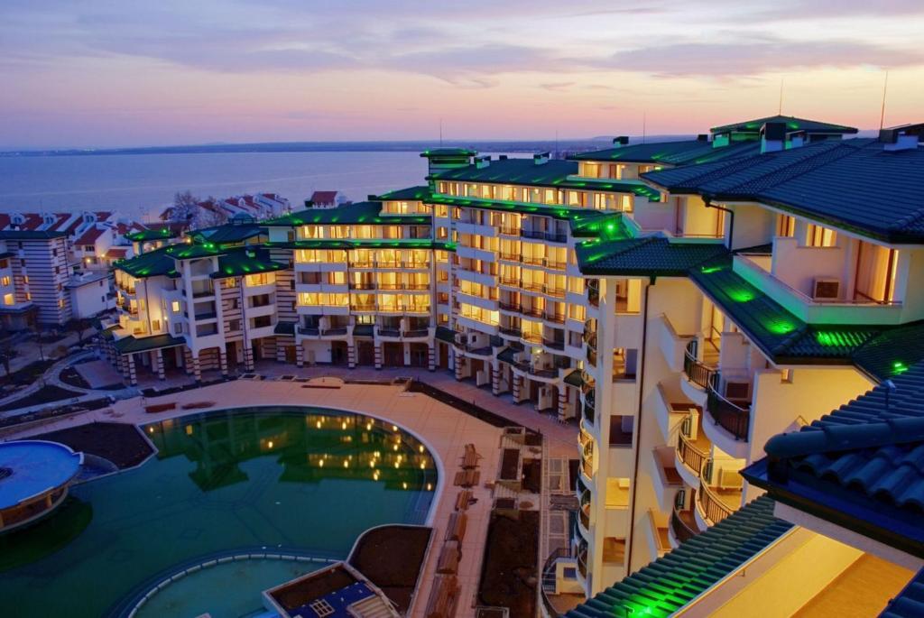 A bird's-eye view of Villa Bagheera in Emerald Beach Resort &Spa