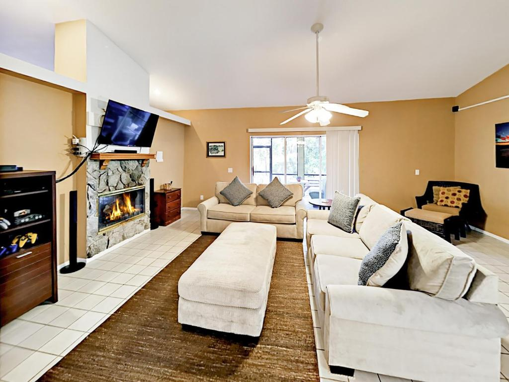 A seating area at Orange River Oasis Home Home