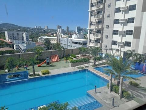 A view of the pool at HORIZON 101 BY LOU 3MINS WALK MALL AND BARS or nearby