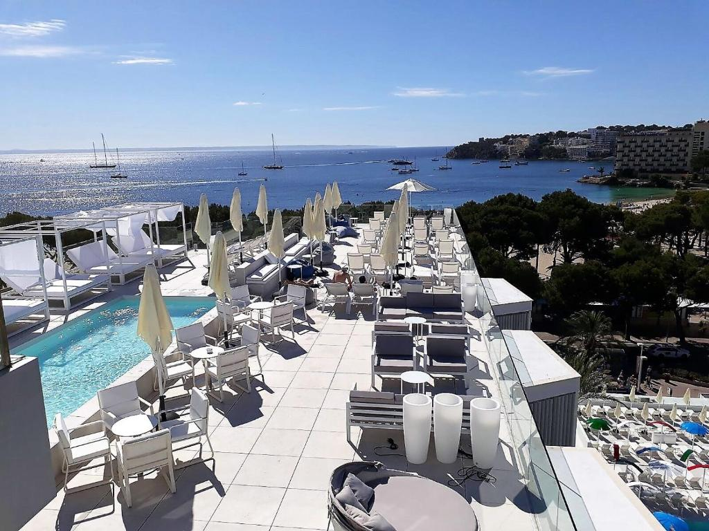 A bird's-eye view of Msh Mallorca Senses Hotel, Palmanova - Adults Only