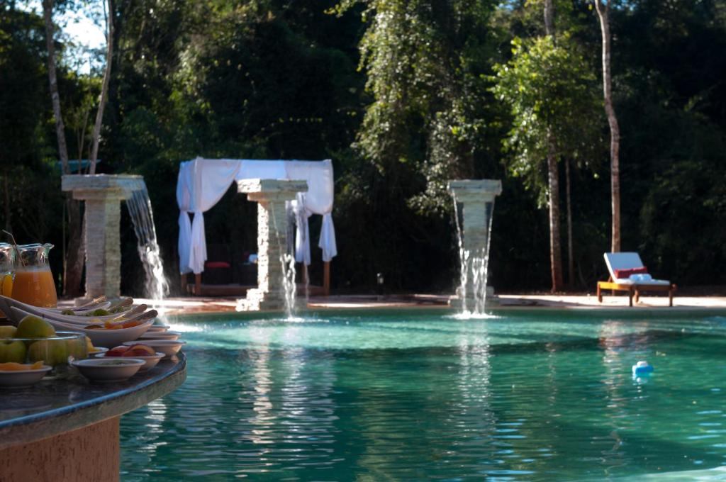 The swimming pool at or near Yvy Hotel de Selva