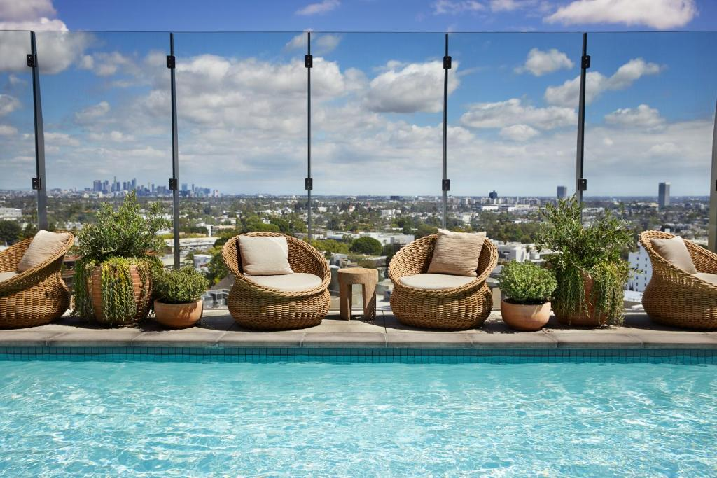 The swimming pool at or close to 1 Hotel West Hollywood