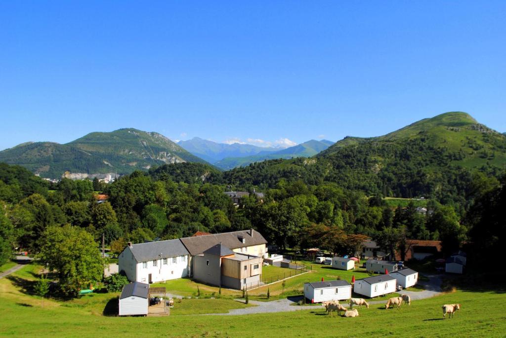 A bird's-eye view of Camping d'Arrouach