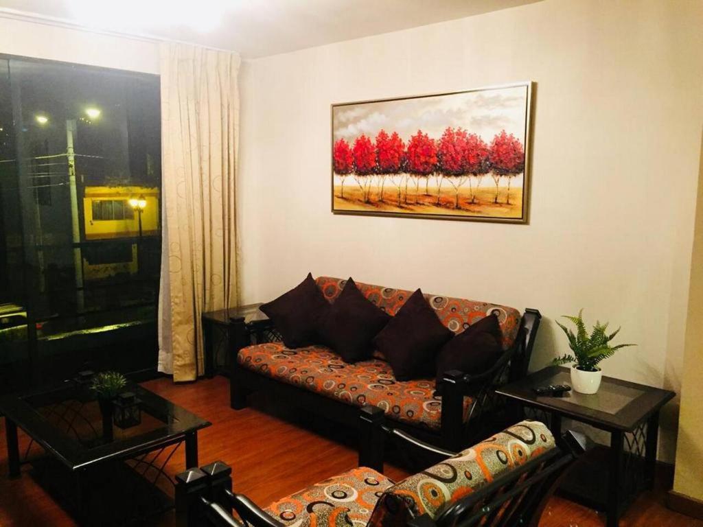 Zona de estar de Ylla Cusco Apartments